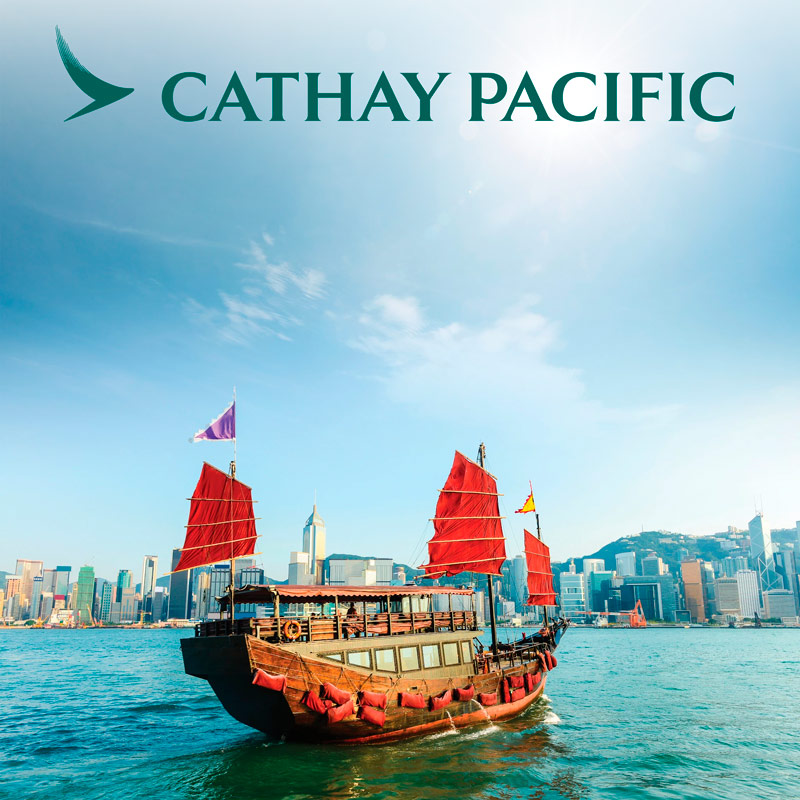 Guia Hong Kong Cathay Pacific